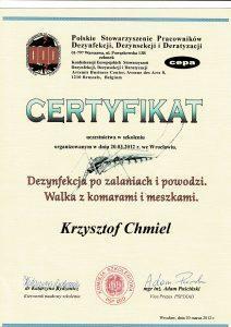 Certyfikat 26